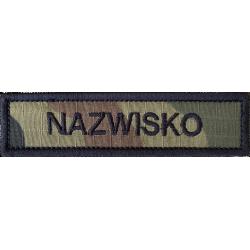 Naszywka Imiennik Name...