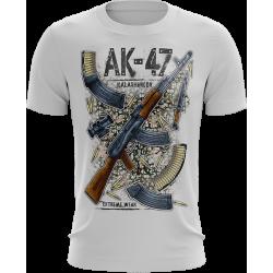 AK-47 Kalashnikov koszulka...