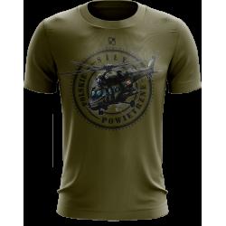 koszulka sokół ze śmigłowcem