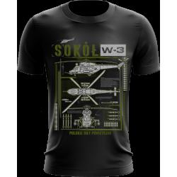 """""""Sokół W-3"""" koszulka..."""