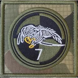 Naszywka 25BKPow 7 batalion...