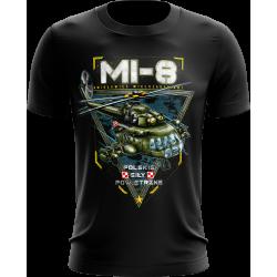 Mi-8 koszulka ze śmigłowcem