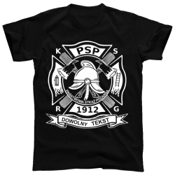 Koszulka PSP z nazwą Twojej...