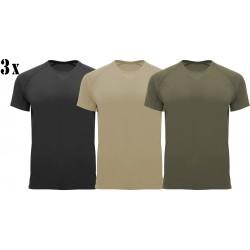 3 x Koszulka Techniczna Zestaw